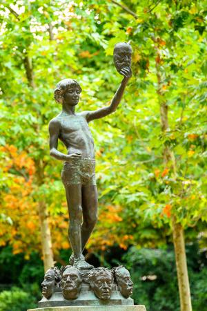 Sculpture in the Luxembourg Garden
