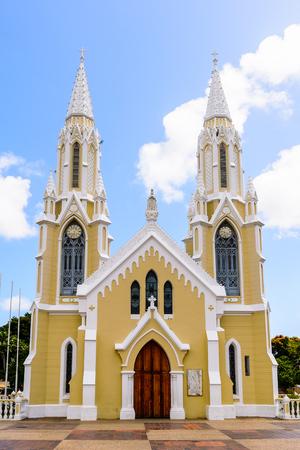 Basilica de la Virgen del Valle in Valley of the Espiritu Santo, Isla Margarita, Venezuela