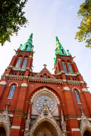 St. John's Church. Johannes Church, Helsinki, Finland Banco de Imagens