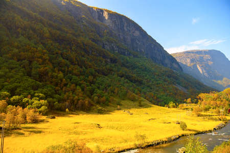 Nature of the mountains of Norway