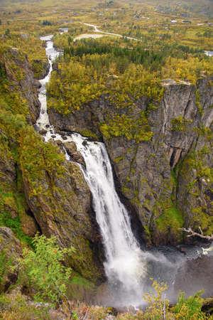 Voringfossen, the 83rd highest waterfall in Norway