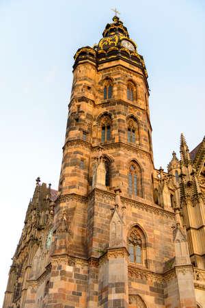 Cathedral of St. Elizabeth, Kosice, eastern Slovakia.