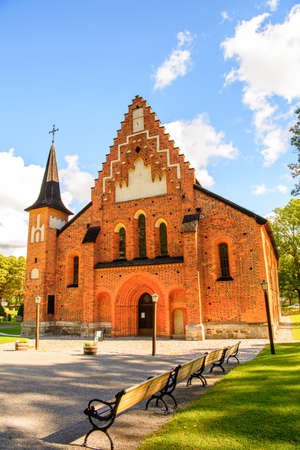 St. Mary's Church (Mariakyrkan), Sigtuna, Sweden.