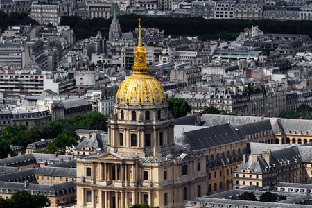 Les Invalides (National Residence of the Invalids) of Paris, the capital of France Stock fotó - 106390893