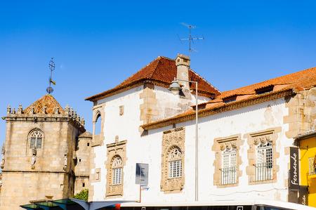 Historic part of Braga, Portugal.