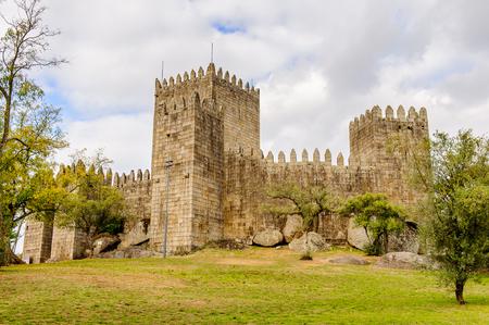Guimaraes castle, Portugal. UNESCO World Heritage Editorial