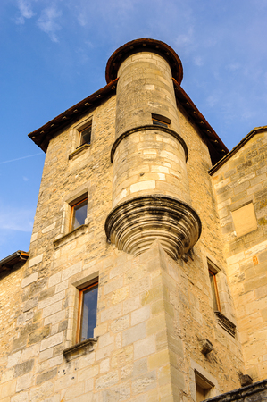 Medieval architecture of Perigueux, France. Editorial