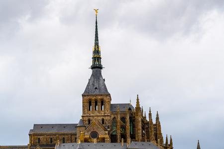 Le Mont Saint-Michel, Normandy, France. UNESCO World Heritage