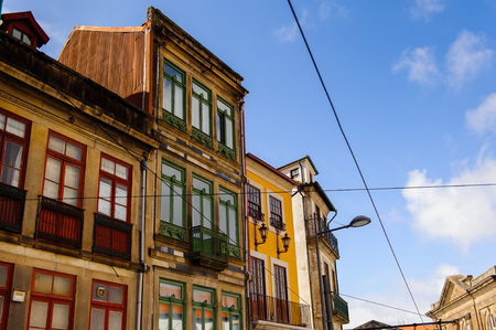 Architecture of Porto, the second largest city in Portugal Editorial