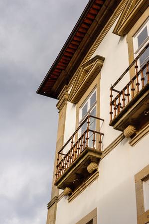 Architecture of Historic Centre of Guimaraes, Portugal. UNESCO World Heritage