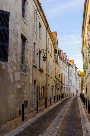 Medieval architecture of the Old Town, Perigueux, France.