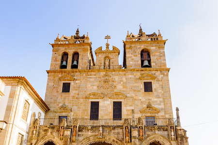 Cathedral of Braga, Portugal. Stock Photo