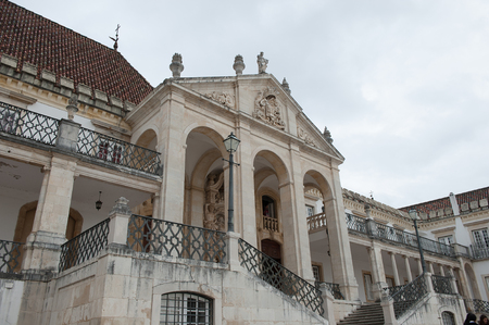 University of Coimbra,  one of the oldest universities in the world. UNESCO World Heritage site.