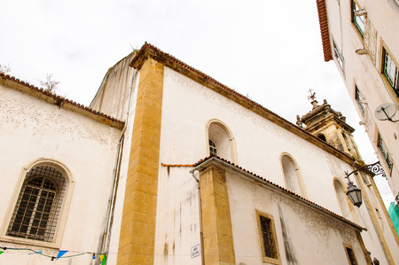 Architecture of the Historic center of Coimbra, Portugal. World Heritage site by UNESCO since 2013