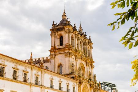 Alcobaca monastery, a Mediaeval Roman Catholic monastery where King Pedro I and Ines de Castro were burried. Unesco World Heriatge