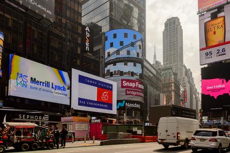 NEW YORK, USA - SEP 16, 2017: Architecture of Manhattan, New York City, United States of America