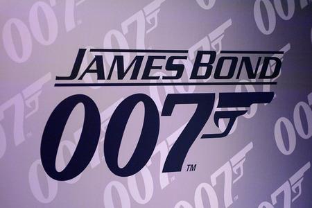 VIENNA, AUSTRIA - OCT 4, 2017: Agent 007 James Bond sign, Madame Tussauds wax museum in Vienna.