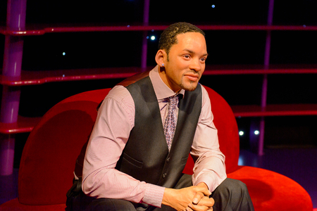 VIENNA, AUSTRIA - OCT 4, 2017: Will Smith, American actor, Madame Tussauds wax museum in Vienna. Imagens - 113979813