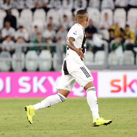TURIN - OCT 20, 2018:  Douglas Costa de Souza. Juventus F.C. - Genoa C.F.C. Alliaz Stadium. Italian league Serie A. Editorial