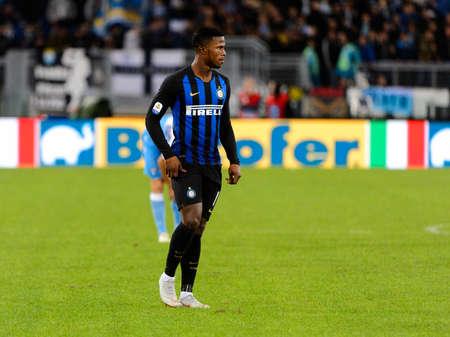 ROME - OCT 29, 2018: Keita Balde 14 in action. SS Lazio - FC Internazionale Milano. Serie A TIM. Stadio Olimpico.