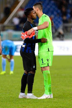 ROME - OCT 29, 2018: Keita Balde 14. SS Lazio - FC Internazionale Milano. Serie A TIM. Stadio Olimpico.