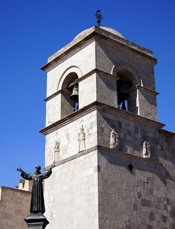 cristian: San Francisco Church and Convent in Arequipa, Peru