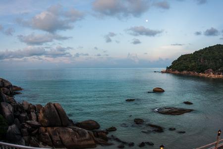 amasing: Amasing scenic Sunsets and sunrises at Cristal Bay, Samui, Thailand