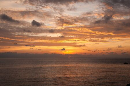 amasing: Amasing scenic Sunsets and sunrises at Cristal Bay, Samui, Thailand