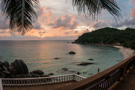 cristal: Amasing scenic Sunsets and sunrises at Cristal Bay, Samui, Thailand