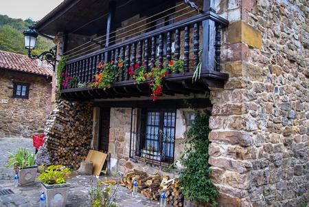 cantabria: Image of Barcena Maior, Asturia y Cantabria, Spain Stock Photo
