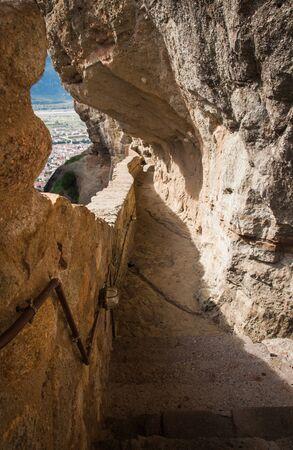 holy trinity: Image of monastery of Holy Trinity  in Meteora, Greece Stock Photo