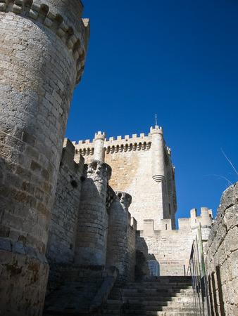 castilla y leon: Image of Castle Telez Giron, Valladolid, Castilla y Leon, Spain
