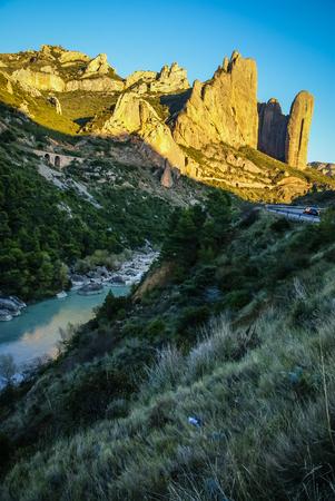 aragon: Image of Malos Riglos, Huesca, Aragon, Spain