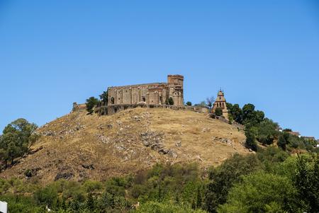 huelva: Image of a monastery at Aracena, Huelva, Andalusia, Spain