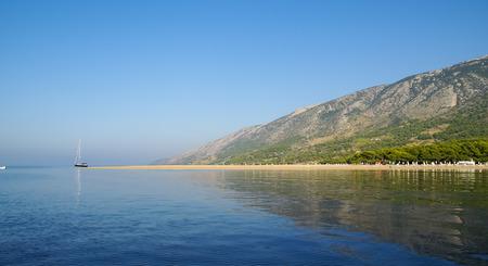 brac: Image of Seascape at Bol, Brac, Croatia