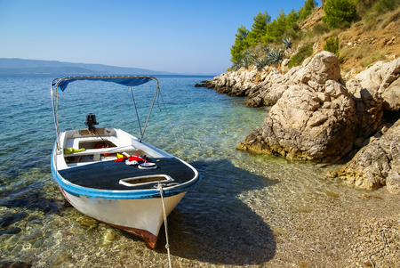 brac: Image of Seascape at Bol, Brac, Croatia