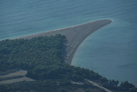 brac: Scenic and beautifull seascape at Bol, Brac, Croatia Stock Photo
