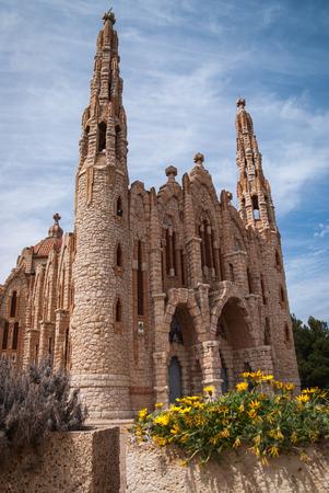 murcia: Image of a church at Novoelda, Valencia y Murcia,  Spain