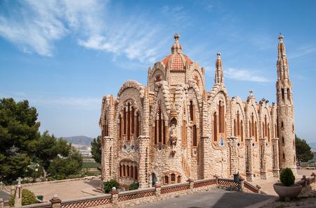 Image of a church at Novoelda, Valencia y Murcia,  Spain