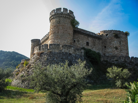 castilla y leon: Image of Mombeltran castle, Avila, Castilla y Leon, Spain Editorial