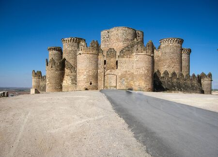 castilla la mancha: Image of Belmonte castle, Castilla la Mancha, Spain