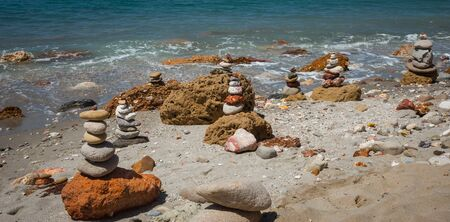 beautiful rare: Beautiful and rare natural colors of Firiplaka beach, Milos, Greece