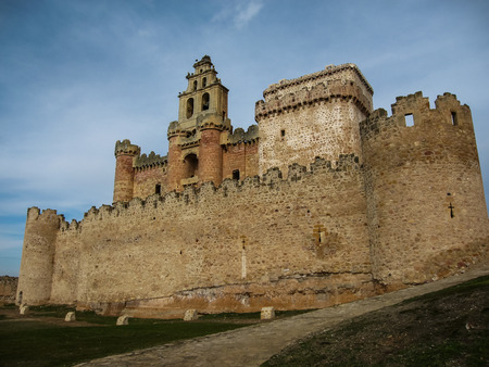 castilla: Image of turegano castle, Castilla y Leon, Spain Editorial