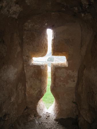 embrasure: Image of turegano castle, Castilla y Leon, Spain Editorial
