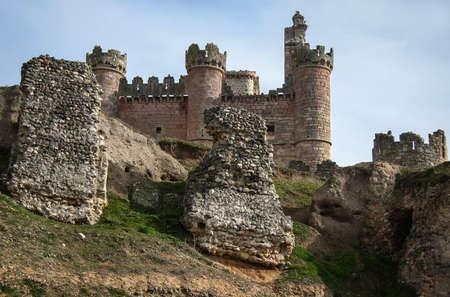 castilla y leon: Image of turegano castle, Castilla y Leon, Spain Editorial