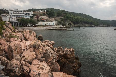 sporades: Scenic seascape at Skiros, Nothern Sporades, Greece