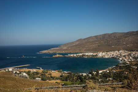 andros: Image of seascape on Andros island, Greece