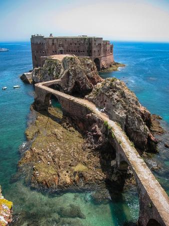 john the baptist: Image of fort of St John  Baptist in Berlenga island, Portugal