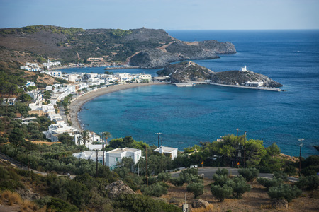 Scenic and beautiful landscape with seaview, Kythira, Greece Reklamní fotografie