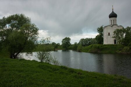 wold: Church of the Intercession on the River Nerl. Inscribed in the Wold Heritage List, Russia